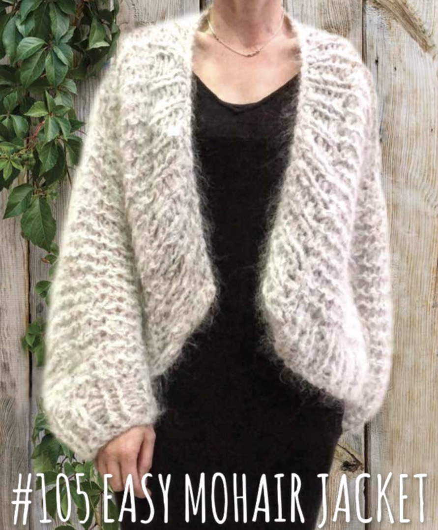 Easy Mohair Jacket 105 Touch Yarns